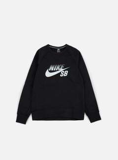Nike SB - Icon Fade Crewneck, Black/White 1