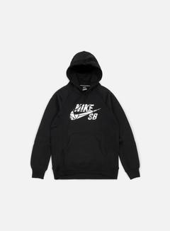 Nike SB - Icon Griptape Hoodie, Black/White