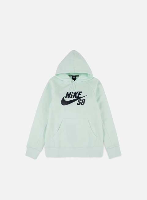 felpe nike sb icon hoodie barely green obsidian