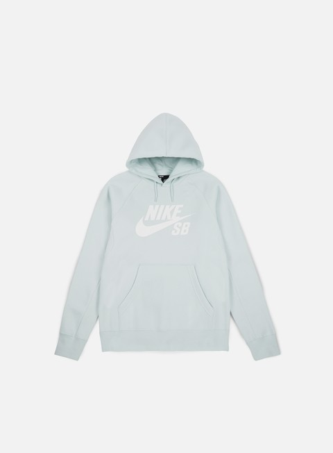 felpe nike sb icon hoodie barley grey white