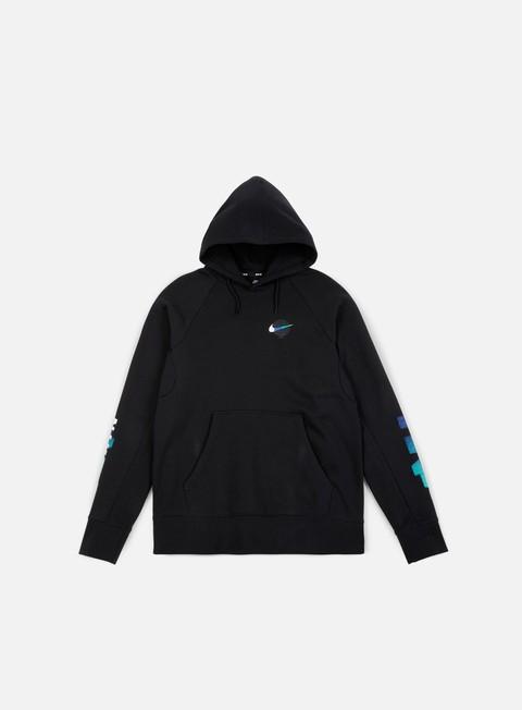 felpe nike sb icon hoodie gfx black white