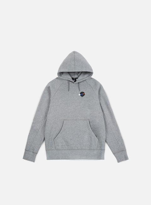 felpe nike sb icon hoodie gfx dark grey heather white