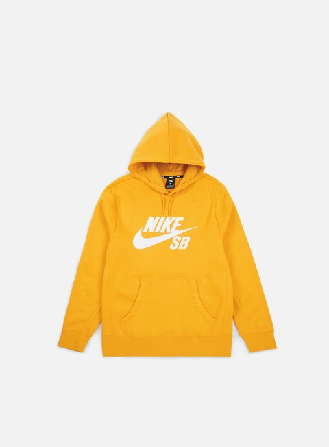 felpe nike sb icon hoodie yellow ochre white