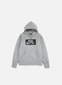 Nike SB - Icon Spots Hoodie, Dark Grey Heather 1