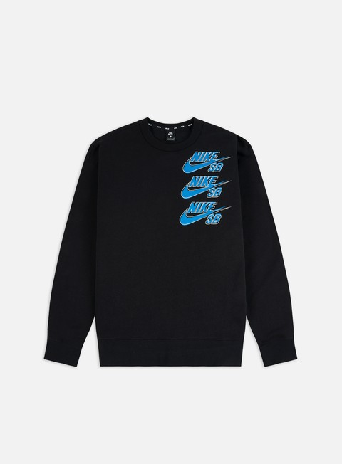 Nike SB Icon Triple Stack Crewneck