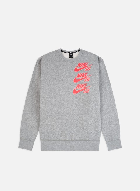 Crewneck Sweatshirts Nike SB Icon Triple Stack Crewneck
