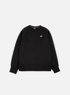Nike SB - SB Icon Crewneck, Black/White