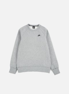 Nike SB - SB Icon Crewneck, Dark Grey Heather