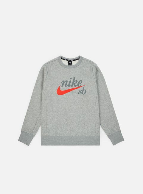 Felpe Girocollo Nike SB Top Icon Craft Crewneck