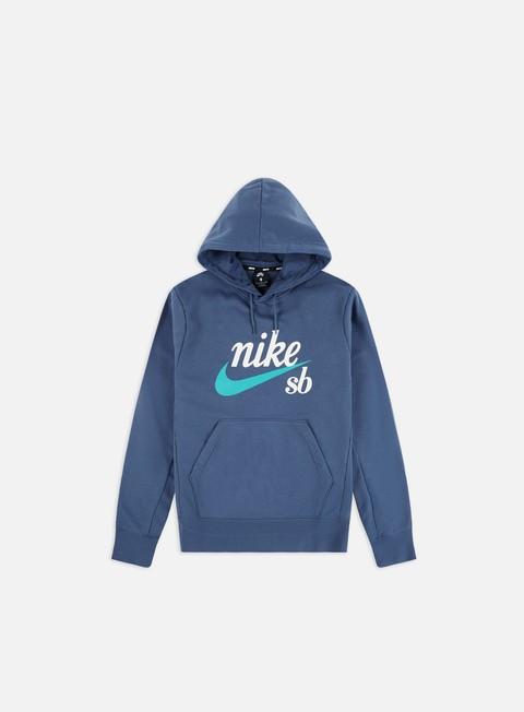 Outlet e Saldi Felpe con Cappuccio Nike SB Washed Icon Hoodie