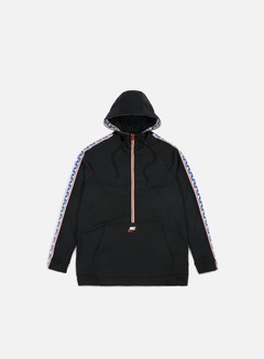 Nike Taped Half Zip Hoodie
