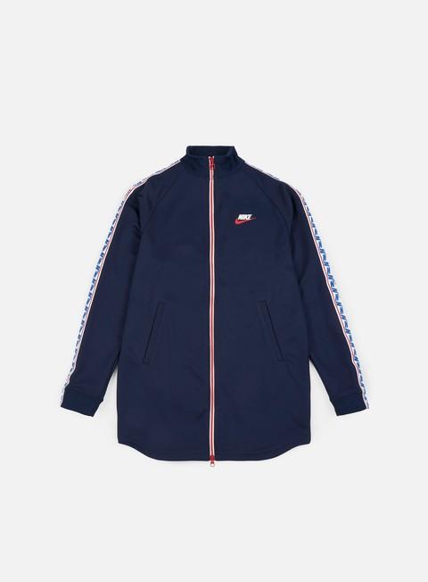 Zip hoodie Nike Taped Track Jacket