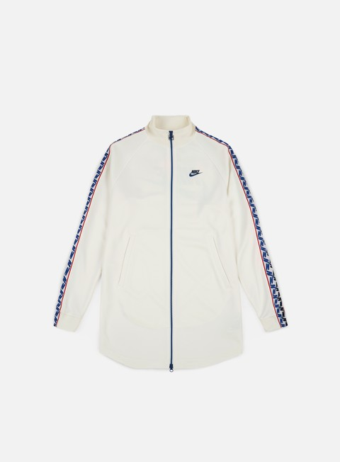 felpe nike taped track jacket sail obsidian