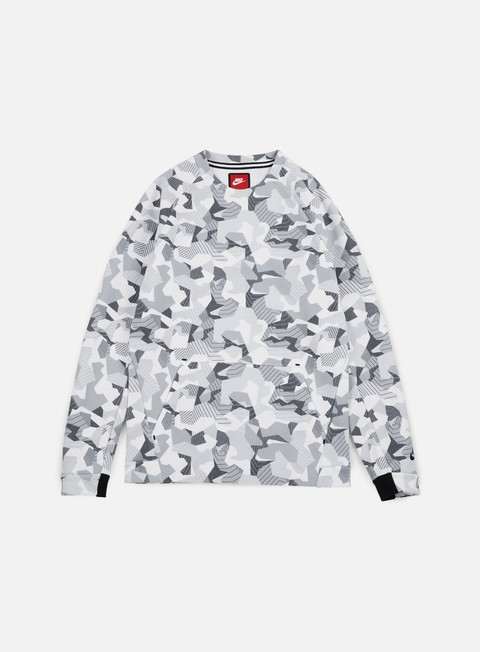 Nike Tech Fleece LS Crewneck AOP