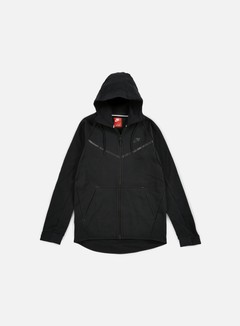 Nike - Tech Fleece Windrunner Hoodie, Black/Black 1