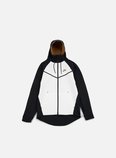 Nike - Tech Fleece Windrunner Hoodie, Black/Golden Beige