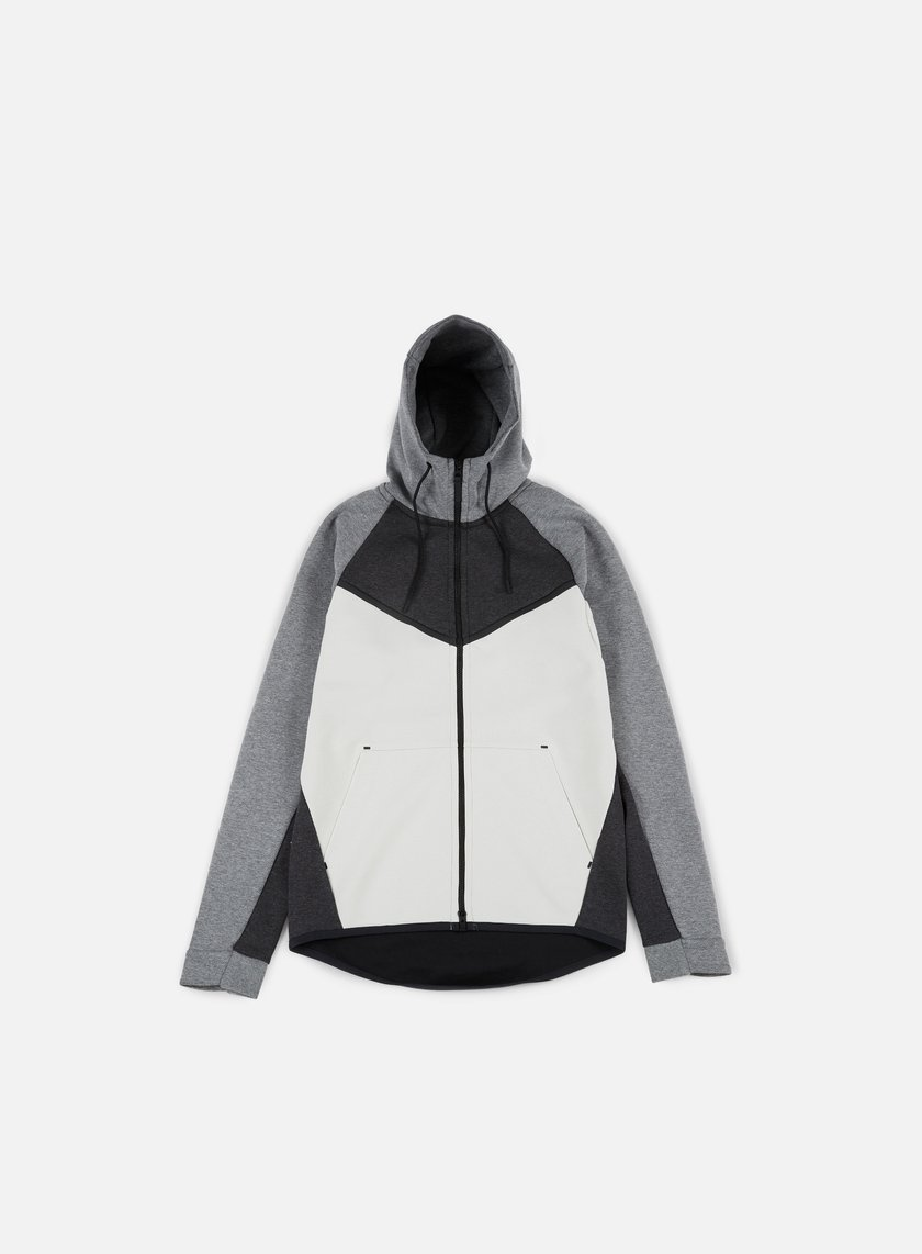 Monasterio Factibilidad Inminente  Nike Tech Fleece Windrunner Hoodie Men, Black Heather Black Carbon Heather  | Graffitishop