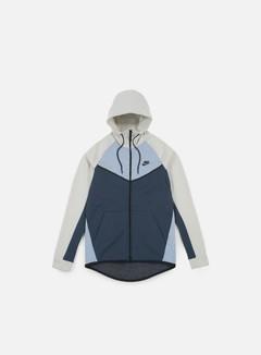 Nike - Tech Fleece Windrunner Hoodie, Glacier Grey/Black