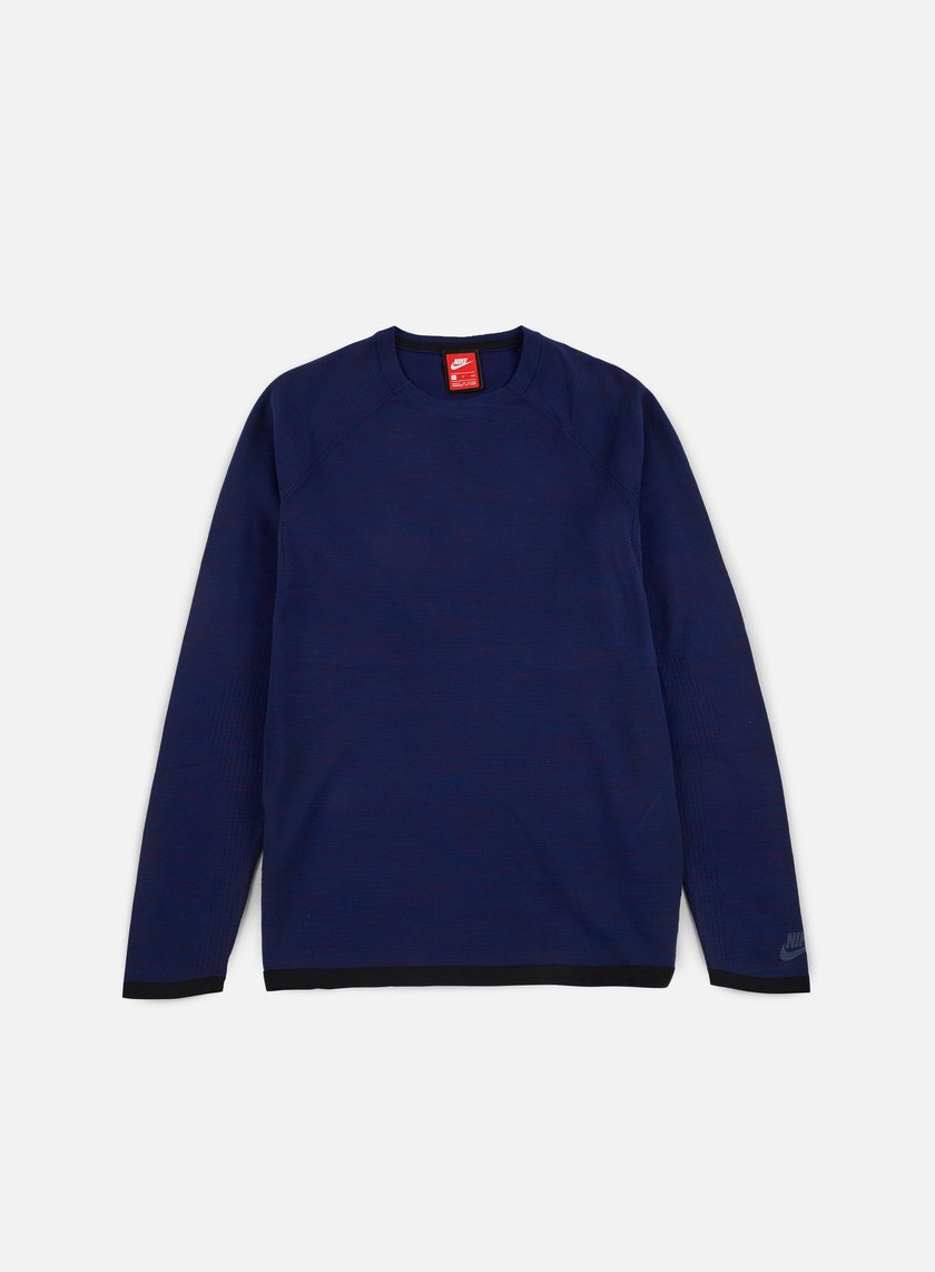 Nike - Tech Knit Crewneck, Binary Blue