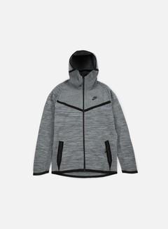 Nike - Tech Knit Windrunner, Cool Grey/Black 1