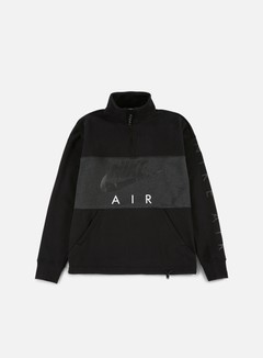 Nike - Top Air Half Zip Fleece, Black/Anthracite
