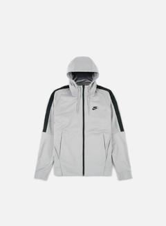 Nike - Tribute Full Zip Hoodie, Atmosphere Grey/Black