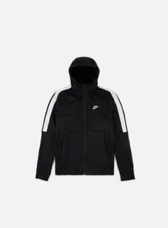 Nike - Tribute Full Zip Hoodie, Black/White 1