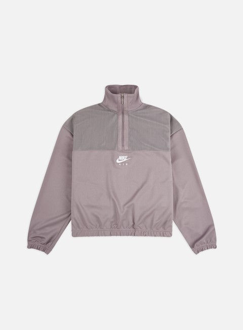 Zip Sweatshirts Nike WMNS NSW Air Quarter Zip Pk Sweatshirt