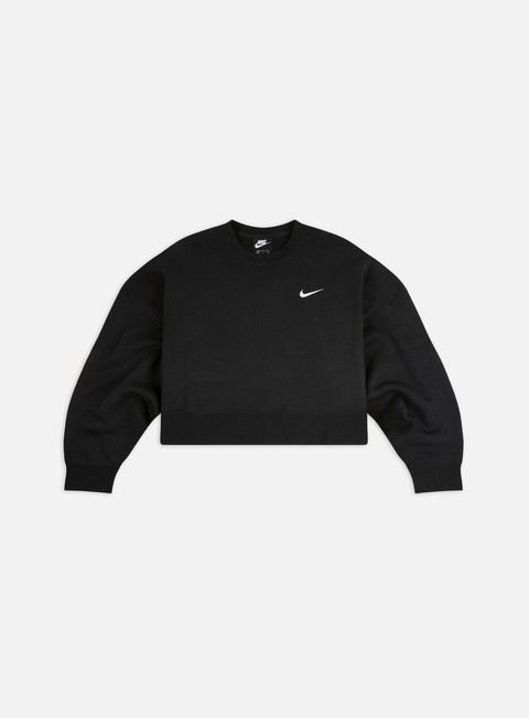 Outlet e Saldi Felpe Girocollo Nike WMNS NSW Fleece Trend Crewneck