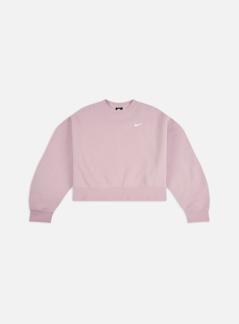 Crewneck Sweatshirts Nike WMNS NSW Fleece Trend Crewneck