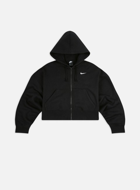 Hooded Sweatshirts Nike WMNS NSW Fleece Trend Full Zip Hoodie