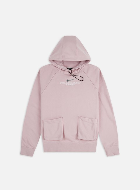Outlet e Saldi Felpe con Cappuccio Nike WMNS NSW Swoosh FT Hoodie