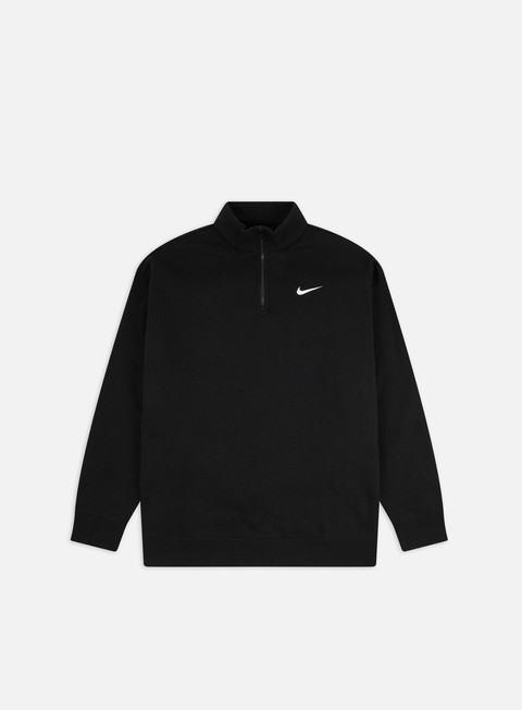 Zip Sweatshirts Nike WMNS NSW Trend 1/4 Zip Mock Neck