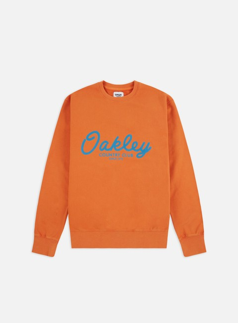 Outlet e Saldi Felpe Girocollo Oakley TNP Country Club Fleece Crewneck