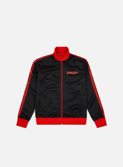 felpe oakley tnp track jacket blackout