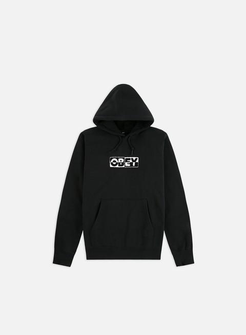 Logo Sweatshirts Obey 2 Tone Hoodie