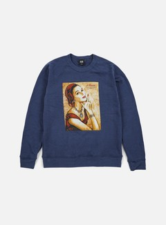 Obey - A Message From Our Sponsor Tri-Blend Crewneck, Mood Indigo 1