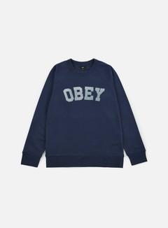 Obey - Academy Crewneck, Navy 1