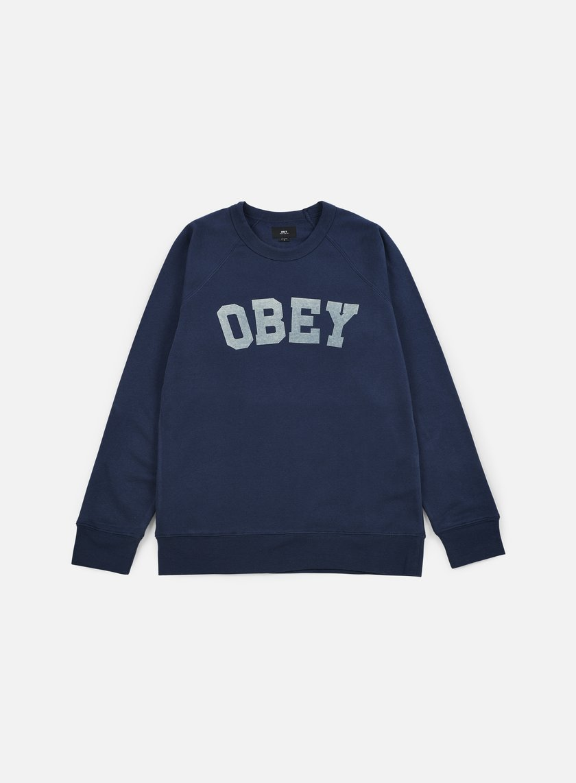 Obey - Academy Crewneck, Navy