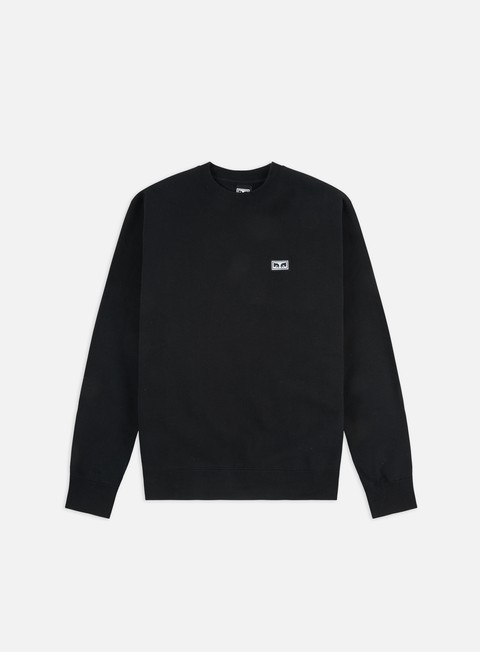 felpe obey all eyez crewneck black