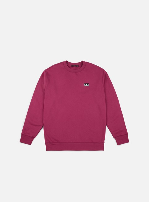 Basic sweatshirt Obey All Eyez Crewneck