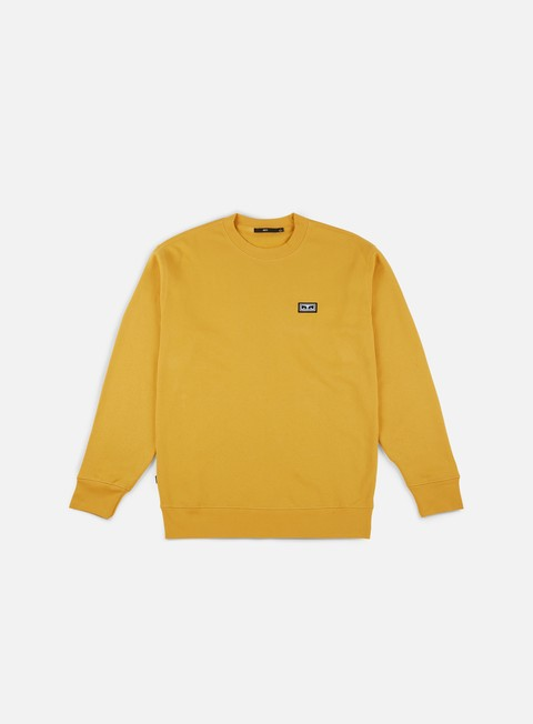 felpe obey all eyez crewneck ochre