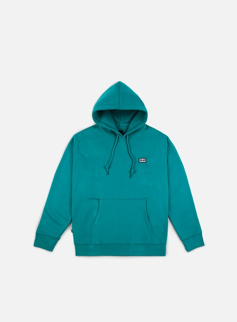 felpe obey all eyez hoodie teal