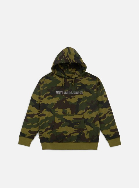 felpe obey automatic hoodie camo