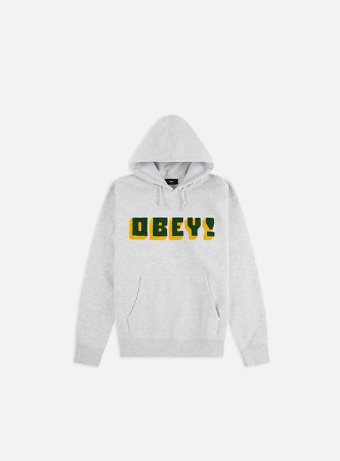 Logo Sweatshirts Obey Bean Hoodie