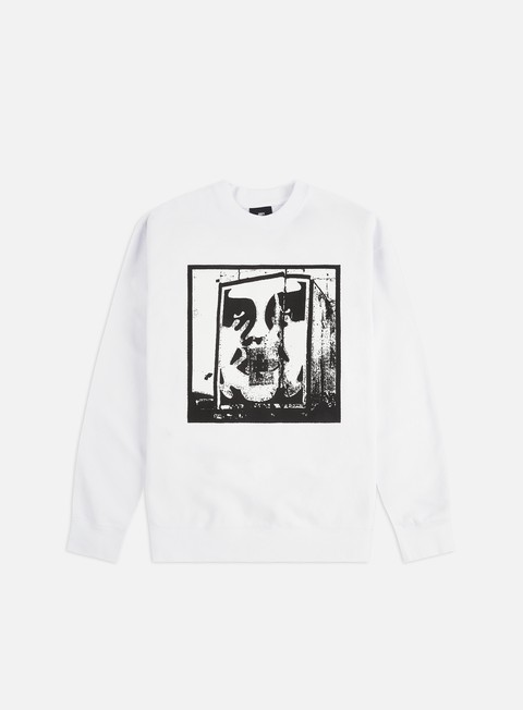 Obey Bomb The Planet Crewneck
