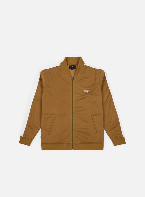 Outlet e Saldi Track Top Obey Borstal Track Jacket