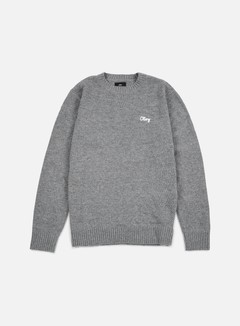Obey - Camden Sweater, Heather Grey