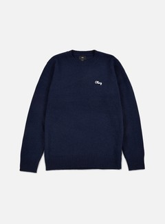 Obey - Camden Sweater, Indigo 1
