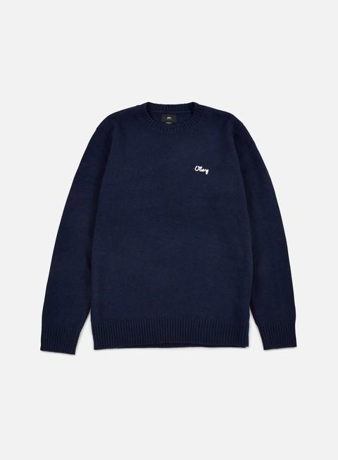felpe obey camden sweater indigo